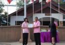 มอบรางวัลนักเรียนที่เข้าร่วมการแข่งขันวัดความรู้ภาษาอังกฤษ ปีการศึกษา 2558